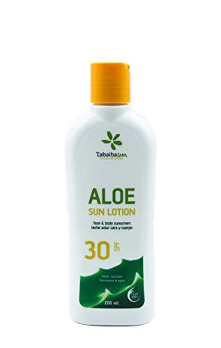 Aloe vera solkräm 15 SPF 200 ml TabaibaSun (30 SPF)