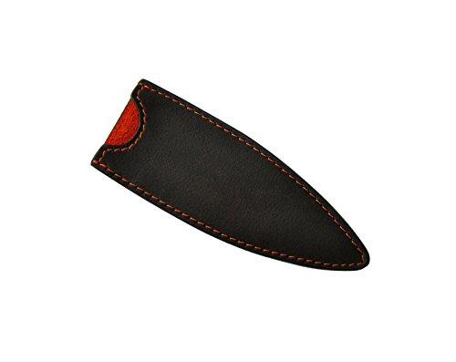 Deejo Étui en cuir pour couteau – Design et Cuir véritable —27g