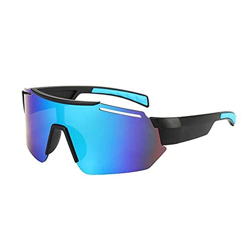 Gafas De Círculos De Ciclismo Grande Ciclismo Color Gafas De Sol, Color Película Deportes Gafas De Sol Para Hombres Y Mujeres Al Aire Libre A Prueba De Viento, Gafas De Ciclismo Grande Para Ciclismo