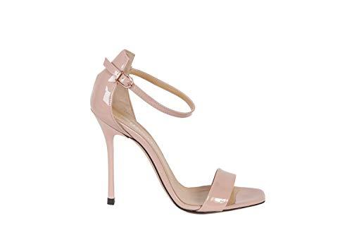 STEPHEN GOOD Sandalo Lack 6060, Beige - Puder - Größe: 36 EU