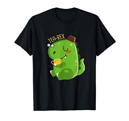 T-Rex I Dino I Trex Tea I Dinosaurio con t I Tea-Rex Camiseta
