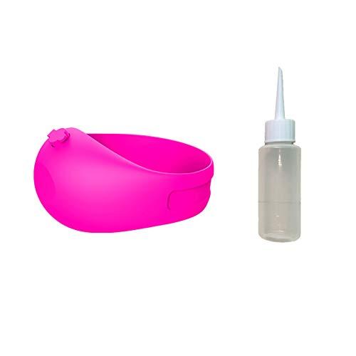 Dispensador de desinfectante de Manos, Pulsera Ajustable portátil dispensadora de Mano para Niños y Adultos 10ML,1 Pulsera + 1 Botella