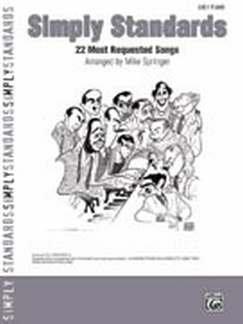 Simply STANDAARDS - gearrangeerd voor piano [noten / Sheetmusic]