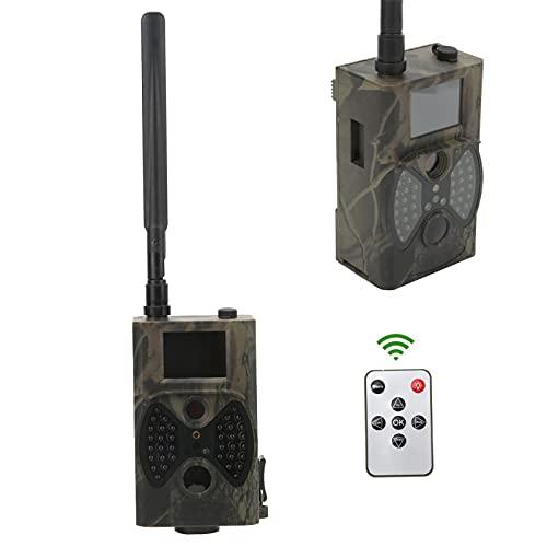 01 Cámara de Caza HC300M, cámara de Trampa de Caza Imagen, luz LED portátil para Seguridad en el hogar para monitoreo de Vida Silvestre