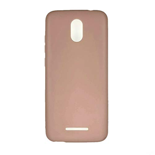 Oujietong Case for Blu View 1 B100dl Case TPU Soft Cover Pink