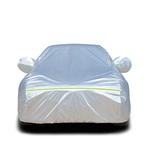 wasserdichte Autoabdeckung Kompatibel mit BMW 5 Series 525i M, Allwetter Oxford Stoff Autoabdeckungen Baumwolle Außenschutz für Staub Regen Schnee UV (Color : Silver, Size : 530i M)