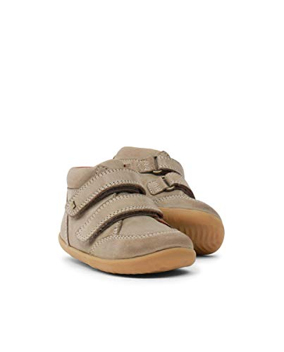 Bobux Step Up Timber Boot Vintage Olive est Une Chaussure en Cuir, Doublure en Cuir, Semelle Souple - Vert - Olive, 18 EU EU