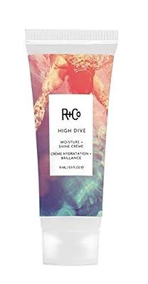 R+Co High Dive Moisture and Shine Crème, Moisturizes, Softens and Eliminates Frizz