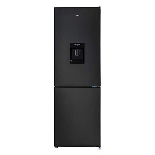 CHiQ FBM228NE4D - Frigorífico combi 228L (158 + 70), No Frost, Color Negro, Altura 1.7m, 42db, compresor con 12 años garantia