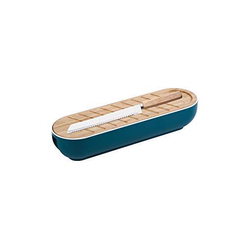 BERGNER Q3449 Cesta para Pan de 3 Piezas en bambú colección In Wood