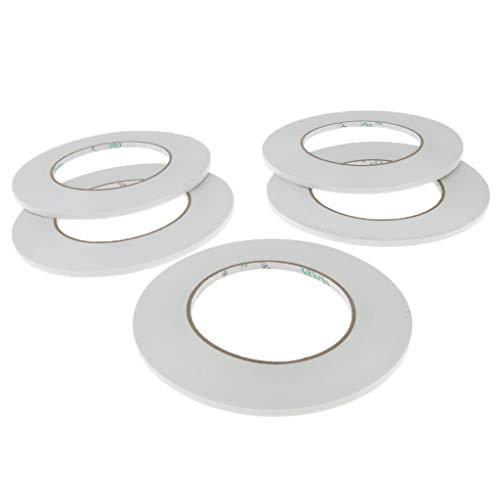 yotijar 5 Waterproof Double Side Acrylic Foam Adhesive Sticker Tape Automotive Mount - 3mm