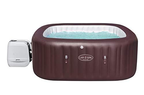 Lay-Z-Spa Maldives Luxury Hot Tub, 8 HydroJet Pro Massage System Inflatable...