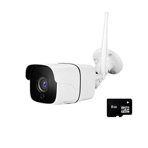 Telecamera WiFi IP da Esterno FHD 1080P per Sorveglianza - Compatibile IOS e Android - Rilevatore di Movimento - Visione Remota e Notturna