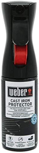 Weber 17685 Antihaft Spray 200 ml, Grillrost-Pflege, Non-Stick Spray