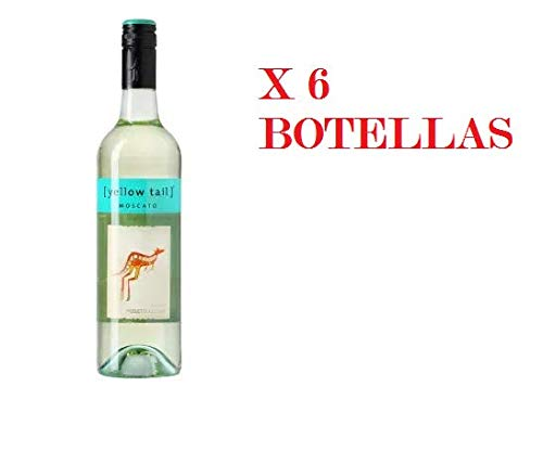 YELLOW TAIL MOSCATO BLANCO CAJA 6 BOTELLAS