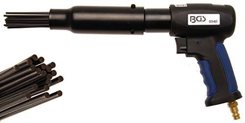 BGS 8540 | Druckluft-Nadelentroster | 3500 Hübe/min | 19 Nadeln | ergonomischer Griff | 330 mm Länge
