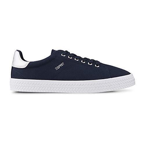 ESPRIT Damen Sneaker 039ek1w069400 blau 670927