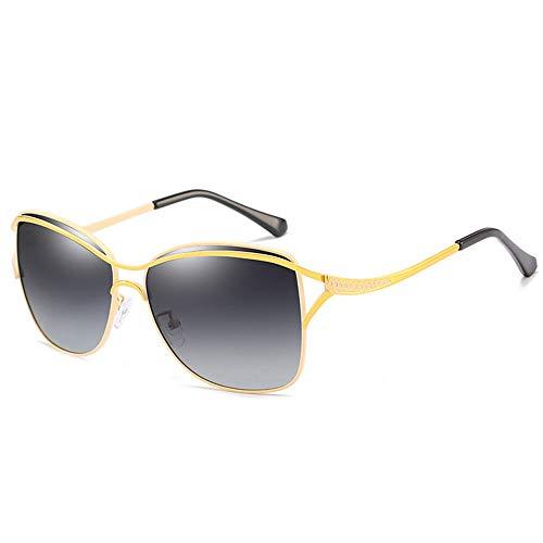 WHSS Gafas de Sol Gafas De Sol Polarizadas UV400 for Hombres/Mujeres Gafas De Sol for Conducir Deportes Al Aire Libre Conducción Espejos De Playa Marcos De Metal Resistente A Los Rayos UV Unisex