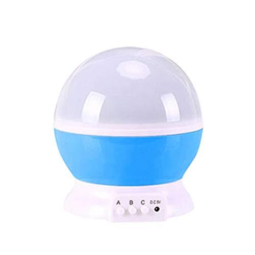 HHYZ - Lampada da tavolo per proiettore piccolo, facile da usare, a LED ad alta luminosità, può essere utilizzata come proiettore, adatta per varie oc