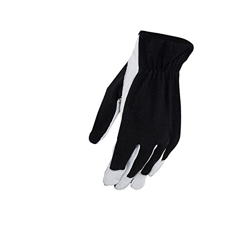 Blakläder Handwerker-Handschuhe, 12-er Pack, 1 Stück, Größe 10, schwarz / weiß, 22763910991010