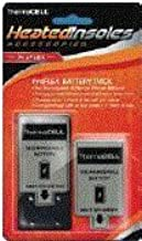 ThermaCELL Potencia macell Adultos Heated Insole batería Incluye Cargador batería de Repuesto, Negro, One Size
