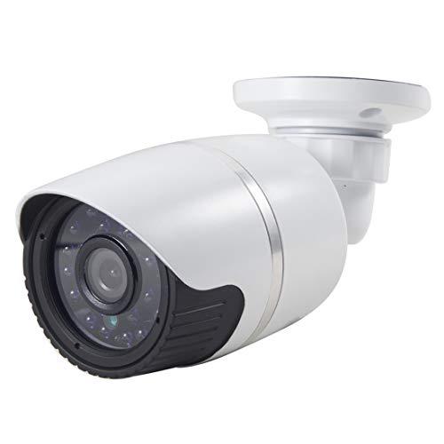 Weyima Cámara IP infrarroja por Cable a Prueba de Agua/vándalos, detección de Movimiento/máscara de privacidad y visión Nocturna de 30 m, Soporte HD 720p (1280 x 720), cámara