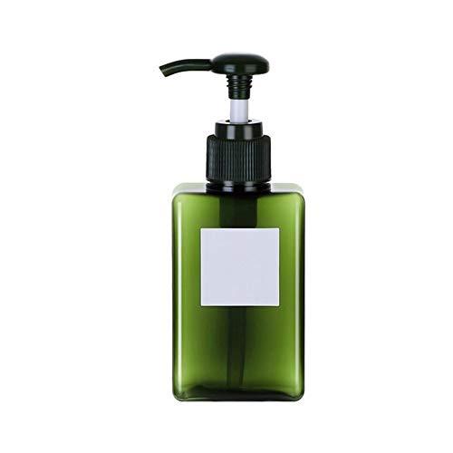 Cuiling-lotion flaska 100/150/250 ml hem dusch schampo lotion tom påfyllningsbar pump dispenser flaska reseförpackning kosmetisk behållare pressflaskor badrumstillbehör (färg: Atrovirens 150 ml)