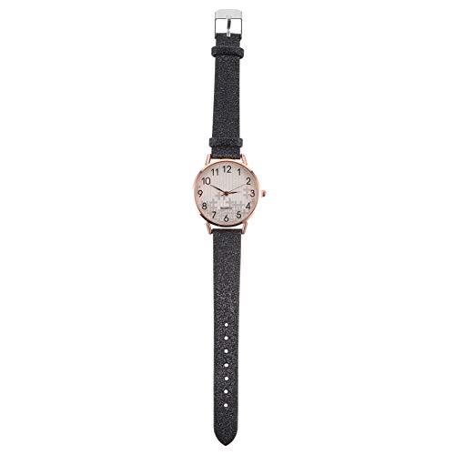 Baluue Relojes Ultrafinos para Mujer Reloj de Cuarzo Analógico Pulsera de Lectura Sencilla Relojes Casuales para Mujer Surtido de Colores 1