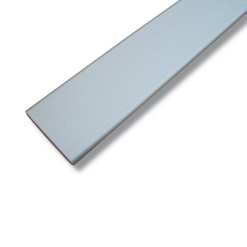 Liedeco Beschwerung für Flächenvorhangstoff, Schiebevorhang, 1 STK weiß L 60 cm