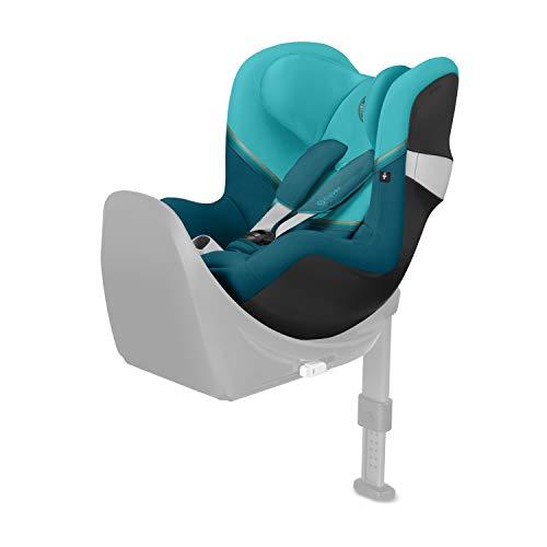CYBEX Gold Silla de coche para niños Sirona M2 i-Size, Para niños de 45 cm a 105 cm (Máximum 19kg), Sin Base M, River Blue