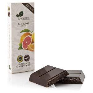 チョカッルーア モディカ チョコレート 柑橘類 (100g) [イタリア シチリア] | CIOKARRUA MODICA CHOCOLATE IGP | ギフト プレゼント カカオ50% ヴィーガン 板チョコ スイーツ ポリフェノール