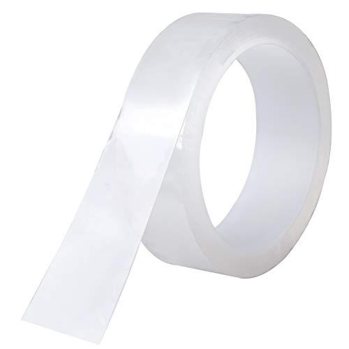Achy JP 防水テープ 補修テープ 強粘着 透明 防カビ 浴槽まわり キッチン バスルーム ベランダ 洗面台用 耐熱 防油 防汚 (50mm×5m)