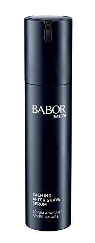BABOR MEN Calming After Shave Serum, beruhigendes Fluid nach der Rasur, gegen Irritationen und Rötungen, schnellere Hautregeneration, 1 x 50 ml