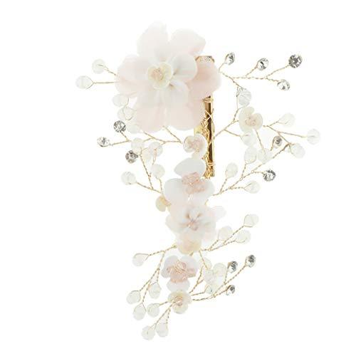 F Fityle Epingles à Cheveux strass en alliage faits style Princesse élégant et Magnifique pour Bal de Finissants Fête Soirée Dansante Mariage