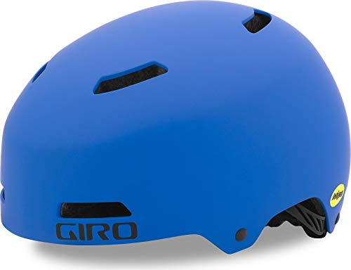 Giro Unisex Jugend Dime FS Mips Fahrradhelm Youth, matte blue, X-Small