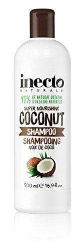 inecto Naturals Super Nourishing Shampoo, Kokosnuss, 500 ml, 6 Stück