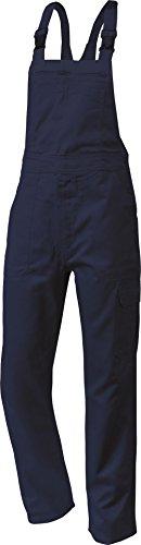 Cargo-Arbeitslatzhose Latzhose Basic Baumwolle grau 250g/m² marine-blau (44)