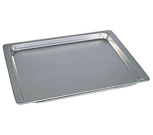 Bakplaat voor oven 465 x 375 x 25 mm aluminium Bosch Siemens 00438155 438155