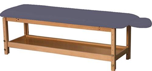 Stationäre Holz-Massageliege, Holz, 182 x 62 cm, 1 Zone