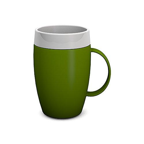 Ornamin Becher mit Trink-Trick und Thermofunktion 140 ml grün (Modell 905) / Thermobecher, Spezial-Trinkhilfe, Schnabelbecher