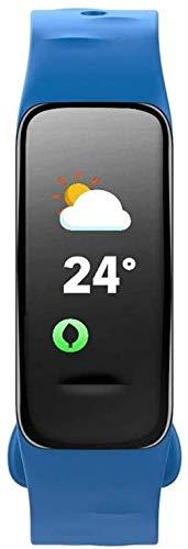 Fitness tracker, activity tracker, waterdicht met hartslagmeter, slaapmonitor, stappenteller, sportmodi-zwart, blauw, rood