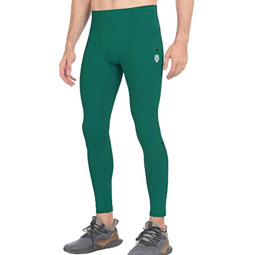 PIQIDIG Men's Compression Pants Base Layer Running Tights Gym Leggings