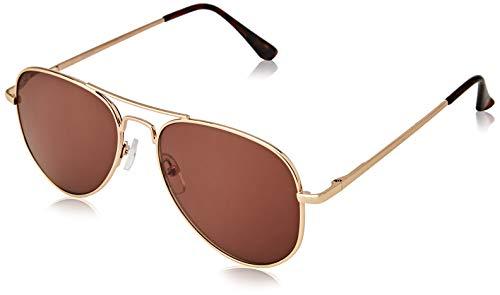 The Reading Glasses Company Gafas De Lectura Oro Lectores De Sol Marco Metálico Uv400 Hombres Mujeres S8-9 +2,00 50 g