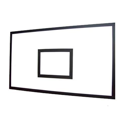 CDsport - Tabla de Baloncesto Ajustable para Canasta, Exterior e Interior, Súper Resistente, de Resina Melamina, Calidad Premium, 180x120 cm