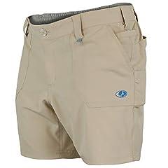 Sport Type: Outdoor Lifestyle Color name: Light Khaki Mossy Oak Women's All Outdoor Flex Short, Light Khaki, Large Brand name: Mossy Oak