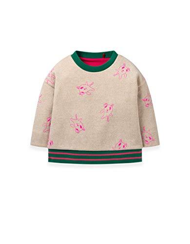 Oilily Habbit Sweatshirt Lurex Sand YF19GHJ001