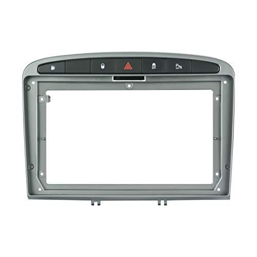 EZoneTronics 9 'telaio facciale per PEUGEOT 308 2008-2013 speciale autoradio stereo telaio In-Dash montaggio kit di installazione doppio DIN