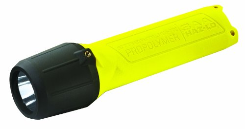Streamlight 68723 3AA ProPolymer HAZ-LO Safety Rated Flashlight, Yellow - 120 Lumens