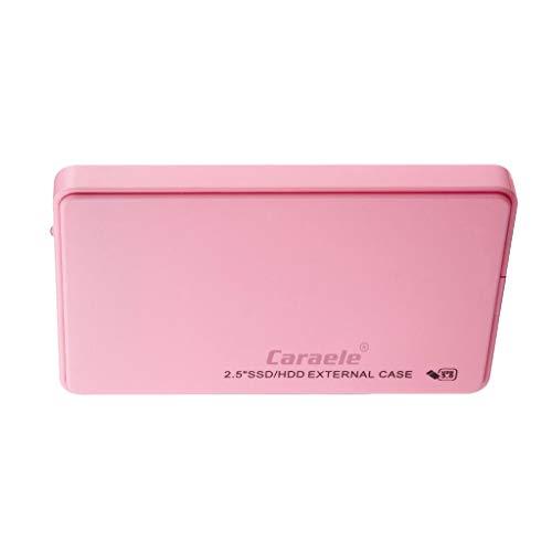 Gazechimp 2,5'' Portable Externe Festplatte 80GB 160GB 250GB 320GB, USB3.0 Backups HDD/SSD Tragbar für PC - 80GB
