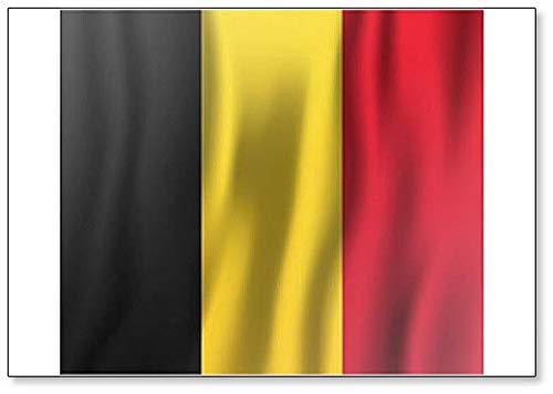 Kühlschrankmagnet, Motiv Flagge Belgiens